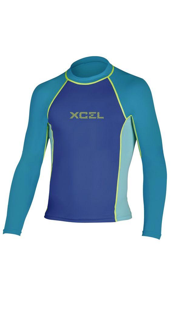 XCEL XCEL GIRL'S EWA PREMIUM 6OZ L/S UV RASHGUARD