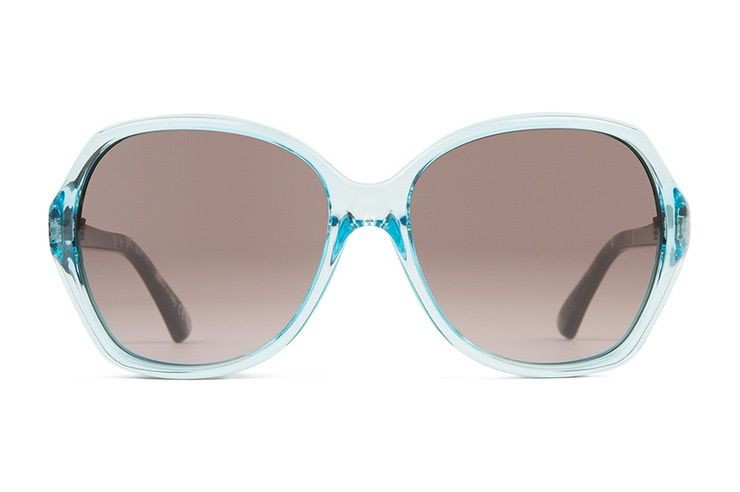 Von Zipper Von Zipper Bloom Powder Quartz Tortoise Frames Brown Lens Sunglasses