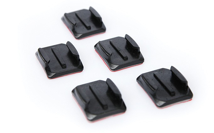 Go Pro Curved Adhesive Mounts