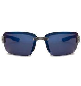COSTA Costa Del Mar Galveston Black Frames Gray 580P Lens Sunglasses