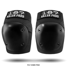 Skate 187 Fly Knee Pads Small Black