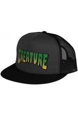 NHS Creature Logo Trucker Mesh Hat Grey/Black OS Mens