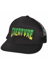 NHS Creature Logo Trucker Mesh Hat Black OS Mens