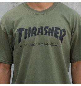 Thrasher Thrasher Skate Mag T, ARMY, L