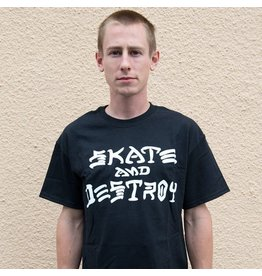 Skate Thrasher Skate And Destroy T -Shirt