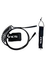 FCS FCS 9FT SUP Regular Leash Ankle Black