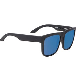 Spy Optic Spy Discord Matte Black Frame Happy Bronze Polarized w/ Blue Spectra Lens Sunglasses