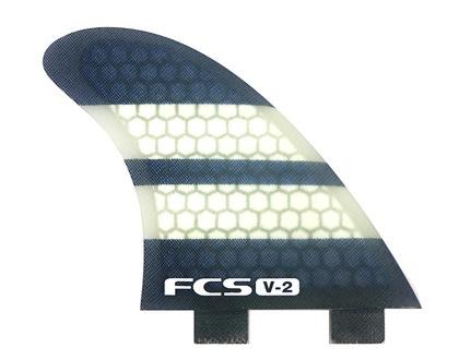 FCS FCS V2 Tri-Quad Set Medium Surfboard Fins