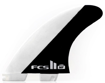 FCS FCS II MF PC Tri Set Thruster Surfboard Fins Large Mick Fanning