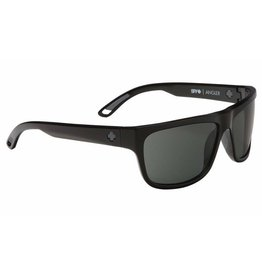 Spy Optic Spy Angler Sunglasses Black Frame Happy Grey Green Polarized Lens New 673237038864