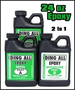 Ding Repair Ding All 24oz. Epoxy Resin