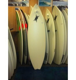 "Starr Surfboards Starr Surfboards 6'2"" Varial Foam Clear Shortboard New"