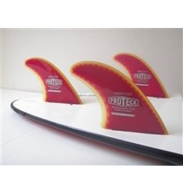 "RDI Pro Teck 4.50"" Super Flex Thruster Set Futures Surfboard Fins"