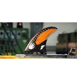 Futures Fins Rob Machado Signature Fin Thruster Surfboard Fins Medium
