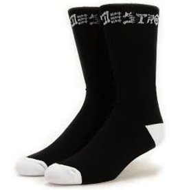 Thrasher Thrasher Skate And Destroy Socks 1 Pair Black
