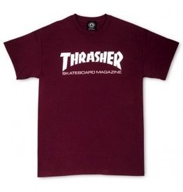 Thrasher Thrasher Skate Mag T, Maroon, M