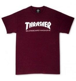 Thrasher Thrasher Skate Mag T, Maroon, L