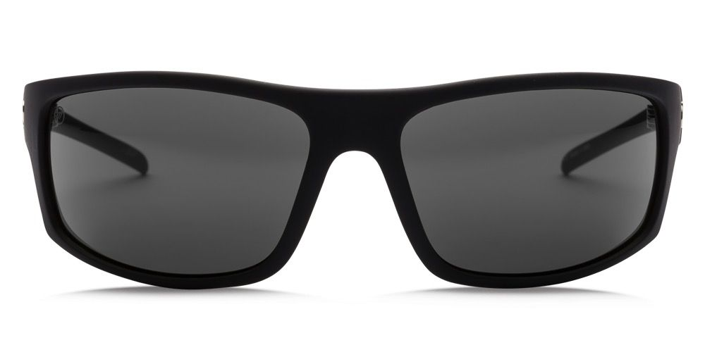 Electric Visual Electric Tech One Matte Black Frame Ohm Polarized Grey Sunglasses