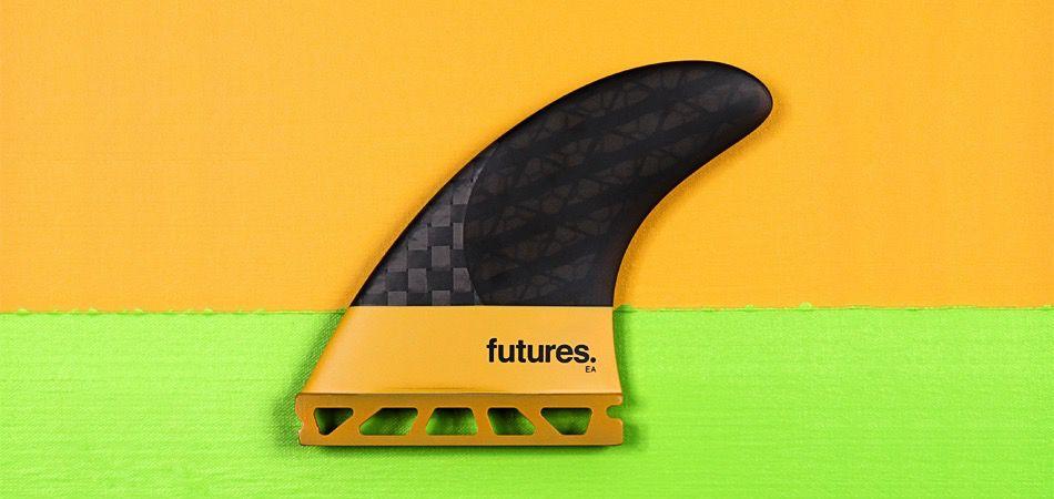 Futures Fins EA 3.0 Thruster Surfboard Fins Orange Medium