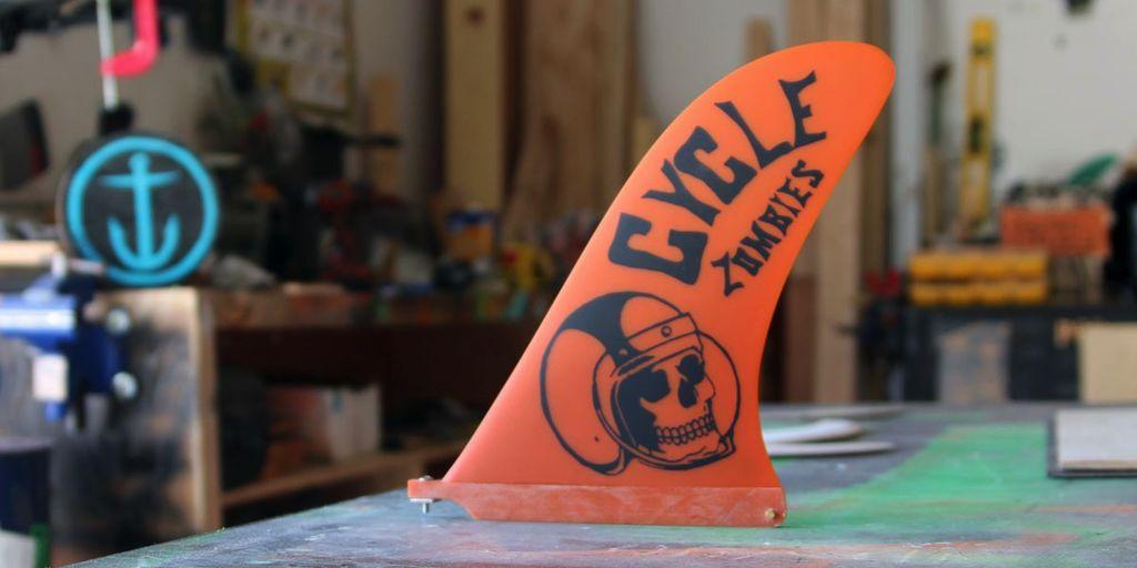 Captain Fin Co Captain Fin Cycle Zombies Crash Helmet 10 Longboard Fin