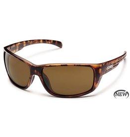 Suncloud Suncloud Milestone Sunglasses Frame Matte Tortoise Lens Brown Polarized Polycarbonate