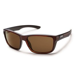 Suncloud Suncloud Mayor Sunglasses Frame Burnished Brown Lens Brown Polarized Polycarbonate