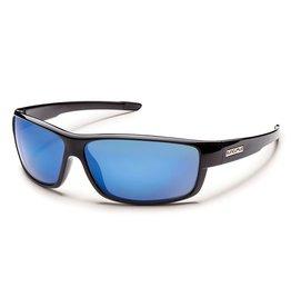 Suncloud Suncloud Voucher Sunglasses Frame Black Lens Blue Polarized Polycarbonate