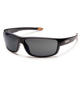 Suncloud Suncloud Voucher Sunglasses Frame Black Lens Gray Polarized Polycarbonate