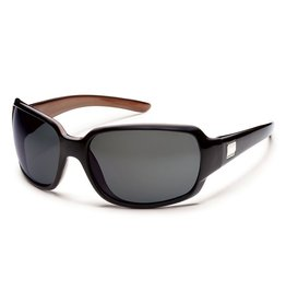 Suncloud Suncloud Cookie Sunglasses Frame Black Backpaint Lens Gray Polarized Polycarbonate