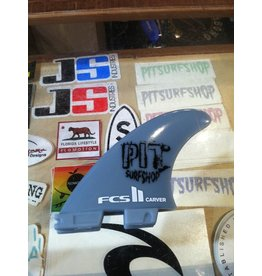 FCS FCS II Carver GF Tri Set Large Pit Surf Shop Edition Surfboard Thruster Fins