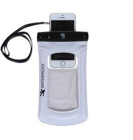 Geckobrands Geckobrands Waterproof and Float iPhone/Mobile Phone Dry Bag White