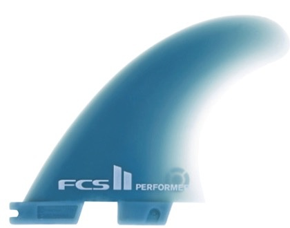 FCS FCS II Performer GF Tri Set Medium Thruster Surfboard Fins