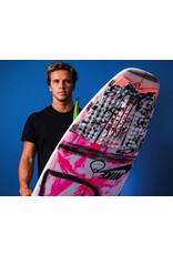 FCS FCS Julian Grey Camo/Blood Orange Tail Traction Surfboard Pad
