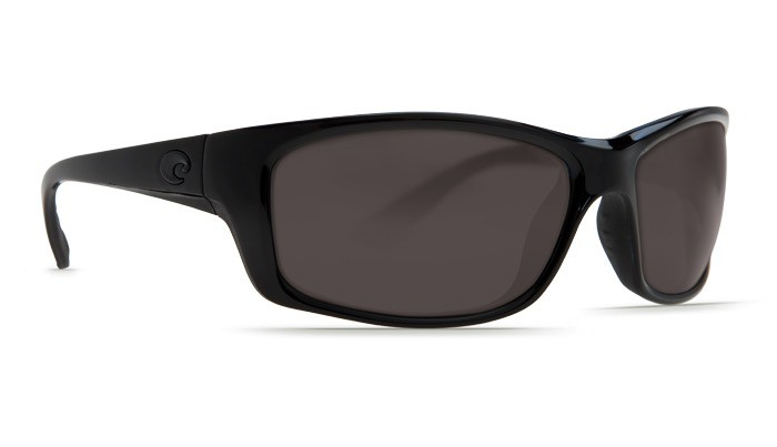 COSTA Costa Del Mar Jose Sunglasses Blackout Gray Polarized Plastic Jose Wejebe