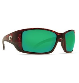 dce2978cace COSTA Costa Del Mar Blackfin Sunglasses Tortoise Green Mirror Polarized  Glass