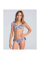 Billabong Billabong Girls Penny Paisley Crop Tank Swimwear Set