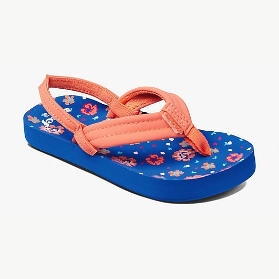 f1bc9b3b38b164 Reef Reef Little Ahi Girls Sandals - The Pit Surf Shop