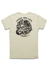 Roark ROARK REVIVAL SUPPORT YOUR LOCAL SAVAGES TEE Mens