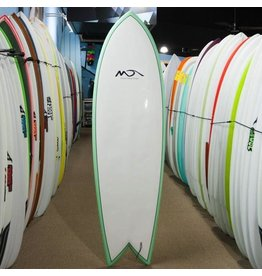 Dolsey Dolsey 6'4 EPS Fish Surfboard Seafoam