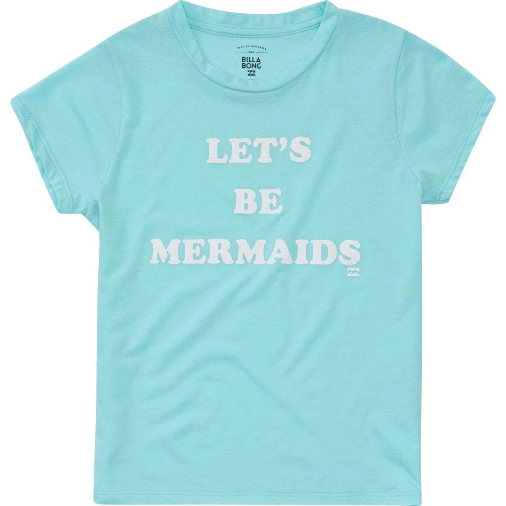 Billabong Billabong Girls Lets Be Mermaids Tee