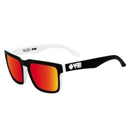 Spy Optic Spy Discord Whitewall Frames Gray Green w/ Red Spectra Happy Lens Sunglasses