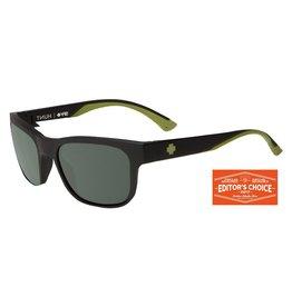 Spy Optic Spy Hunt Matte Black Olive Gray Green Happy Lens Sunglasses