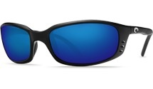 COSTA Costa Del Mar Brine Black Blue Mirror 580G Sunglasses