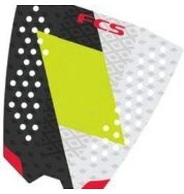 FCS FCS Filipe Toldelo Coal/Lime Athlete Series Surfboard Traction Pad