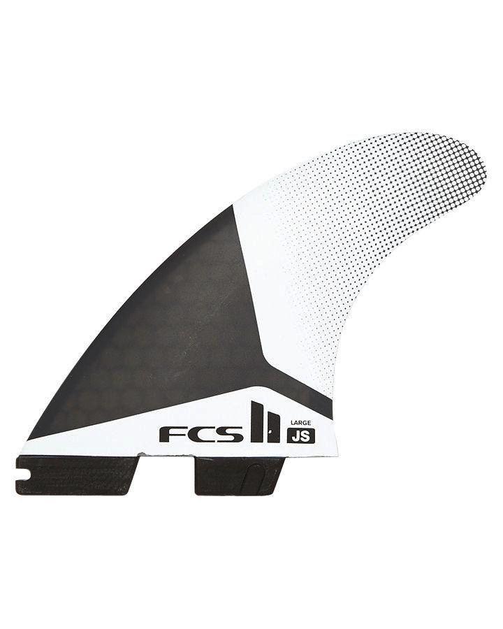 FCS FCS II JS PC Large Thruster Surfboard Fins Jason Stevenson New 2017