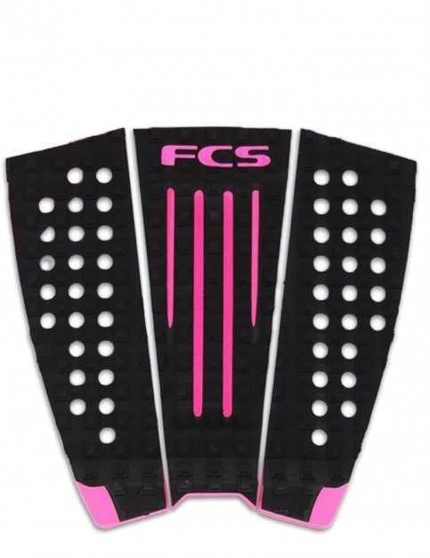 FCS FCS Juliain Black/Hot Pink Surfboard Traction Pad
