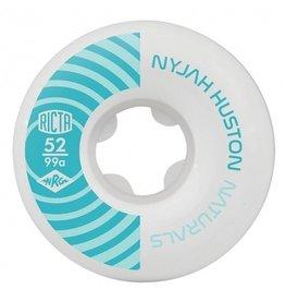 Ricta Ricta 52mm Natural Nyjah Pro Naturals 99a Skateboard Wheels