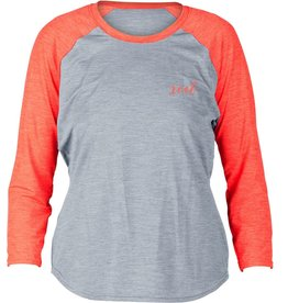 XCEL Xcel GIRL'S BERKLEY HEATHERED VENTX 3/4 SLEEVE