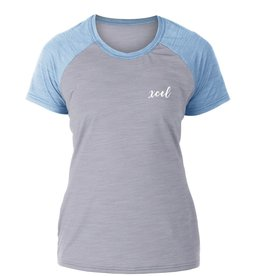 XCEL XCEL GIRL'S SEASIDE HEATHERED VENTX S/S