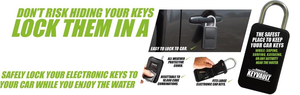 KanuLock Kanulock Keyvault 105 Key Storage Lock Box